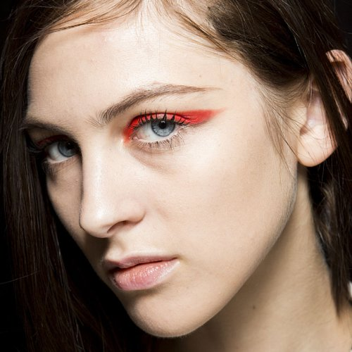 Spring 2015 Milan Fashion Week Hair and Makeup