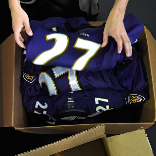 Ray Rice Jersey Trade-In