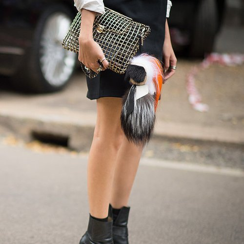 Best Street Style Shoes and Bags at Fashion Week Spring 2015