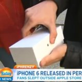 First Person to Buy iPhone Drops It