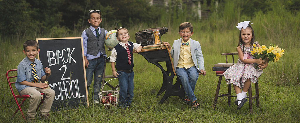 Readin', 'Ritin', 'Rithmetic: This School Days Photo Shoot Is One to Cherish