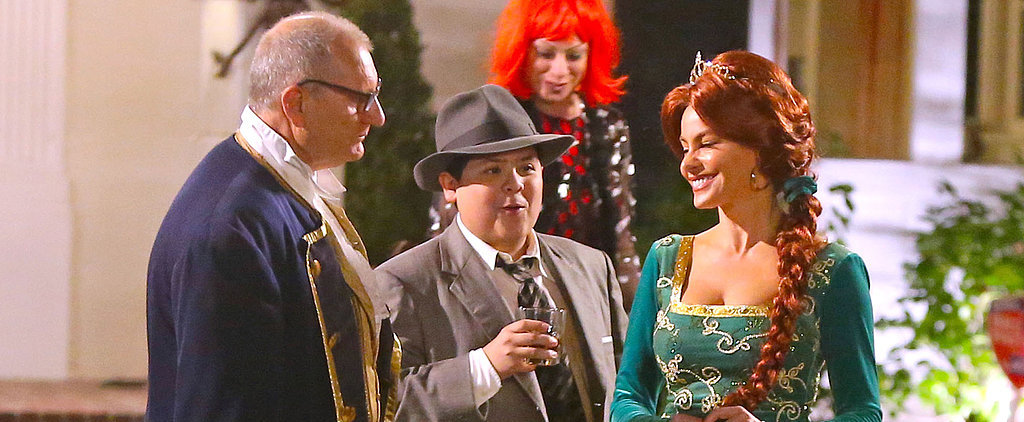 The Modern Family Cast Celebrates Halloween Really Early