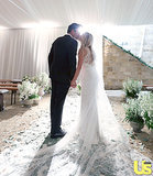 Lauren Conrad Kisses William Tell in Gorgeous New Wedding Photo: See Her Couture Gown!