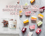 9 Genius Ways You Should Be Using Your Ice Cube Tray