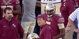 Jameis Winston Contines To Do What He Wants, Dresses In Pads After Being Suspended