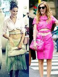 Blogger Chiara Ferragni Channels Carrie Bradshaw's Iconic Belted Waist