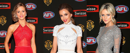 All the Beauties on the Brownlow Medal Red Carpet Glowed