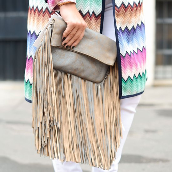 The Milan Street Style Accessories Show Us the Fringe of Fashion Week