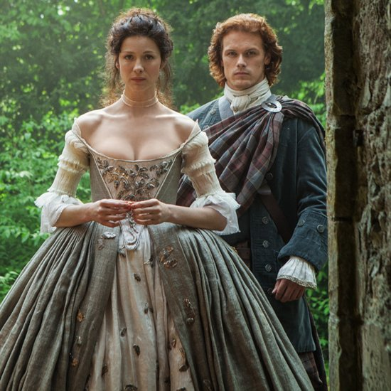 Outlander: What Inspired the Wedding Dress, How to Put on a Kilt, and More