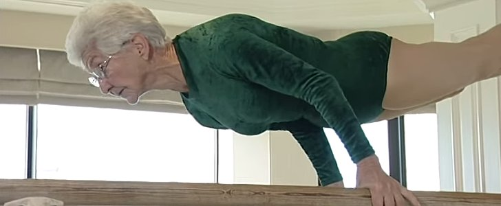 You Won't Believe What This 89-Year-Old Gymnast Can Do