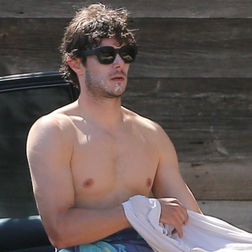 Adam Brody Shirtless Pictures 2014