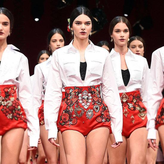 Kendall Jenner Fashion Week Spring 15