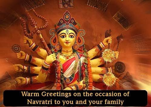 Latest navratri wishes 2014