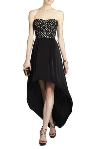 $188.00 BCBG TESS STRAPLESS BUSTIER DRESS
