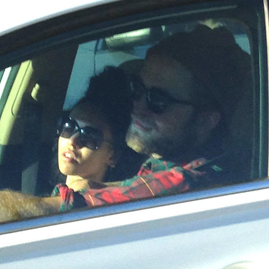 Robert Pattinson Shows PDA With His New Girlfriend, FKA Twigs