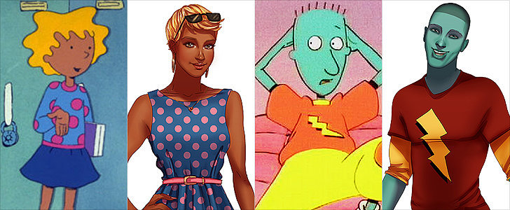 See Your Favorite Childhood Cartoons All Grown Up!