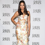 Jessica Gomes Wearing a Zimmermann Dress