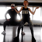 "11-Year-Old Girl Dancing to ""Anaconda"" by Nicki Minaj Video"