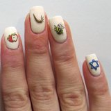 Jewish Holiday Nail Art Ideas