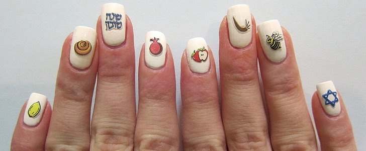 Celebrate the High Holy Days With These Jewish Nail Art Looks