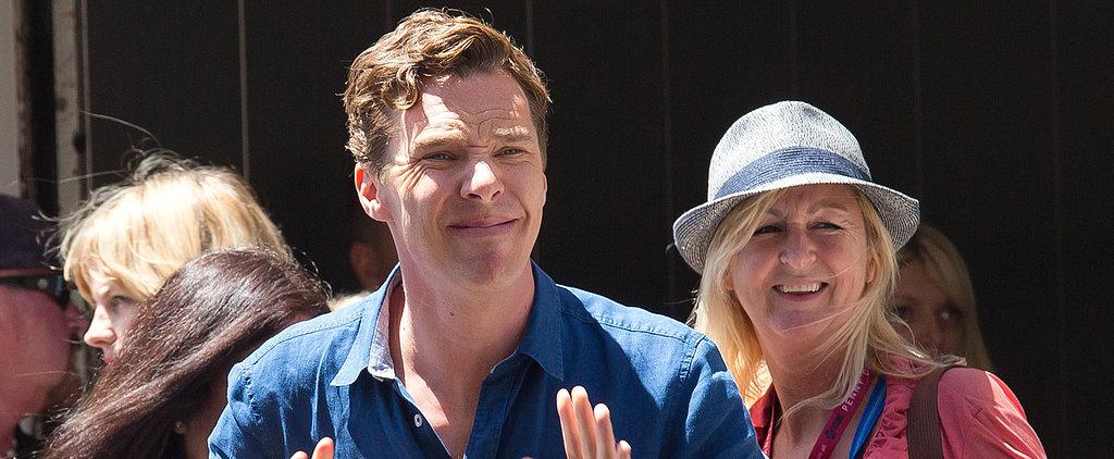 """Fact: Benedict Cumberbatch Cannot Pronounce """"Penguins"""""""