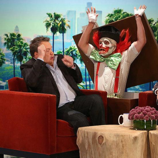 Ellen DeGeneres Scares the Living Daylight Out of Eric Stonestreet — Again!