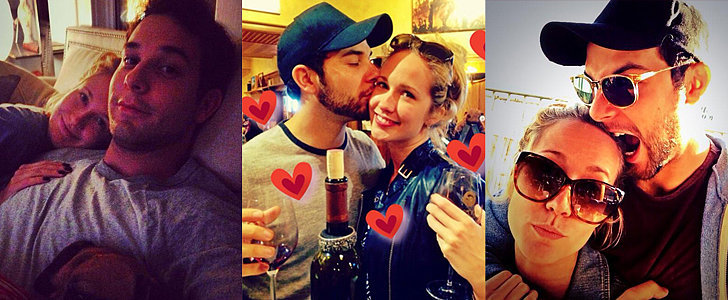 Pitch Perfect's Anna Camp and Skylar Astin Are All About PDA