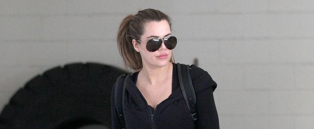 Khloé Kardashian Has a Healthy Pre-Gym Snacking Secret