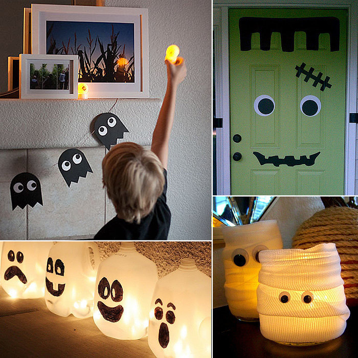Halloween decorating ideas and inspiration popsugar moms Diy halloween party decorations
