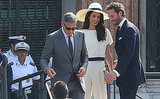 George Clooney and Amal Alamuddin Legally Wed In a Civil Ceremony: See Her Pantsuit, Wedding Ring and More Photos!