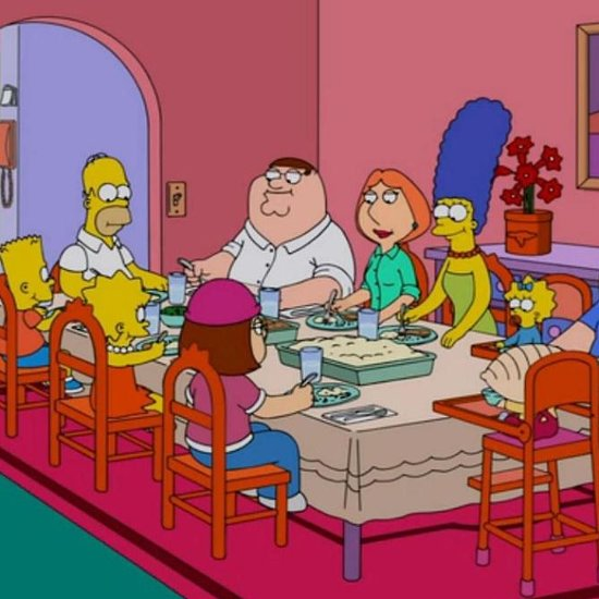 5 of the Funniest Moments From the Family Guy/Simpsons Crossover Episode