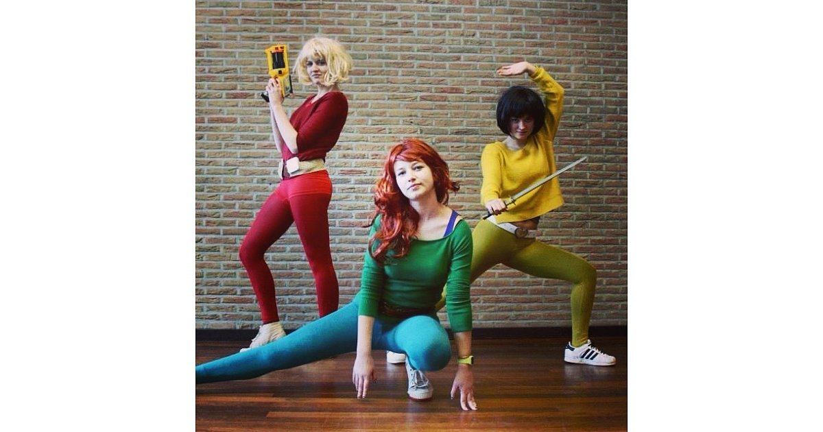 Alex totally spies one wig 14 costumes how to create multiple looks from a single purchase - Deguisement totally spies adulte ...