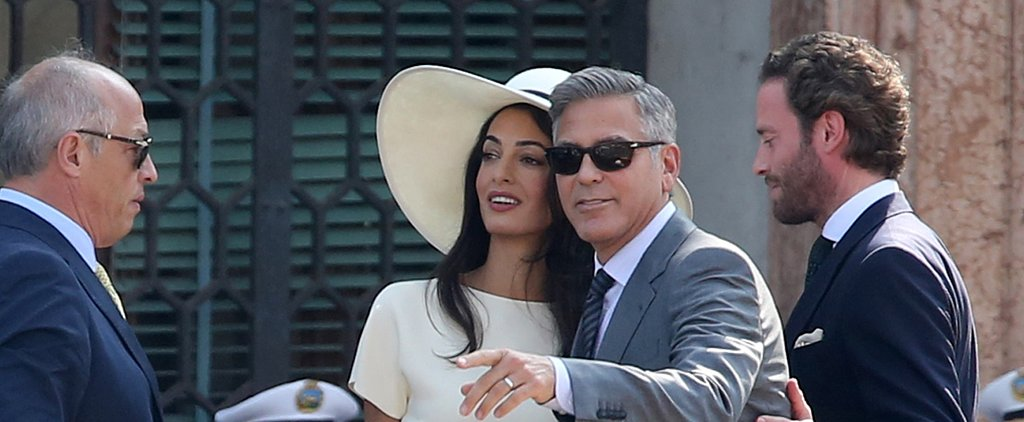 George Clooney and Amal Alamuddin Make a Perfect Pair of Newlyweds