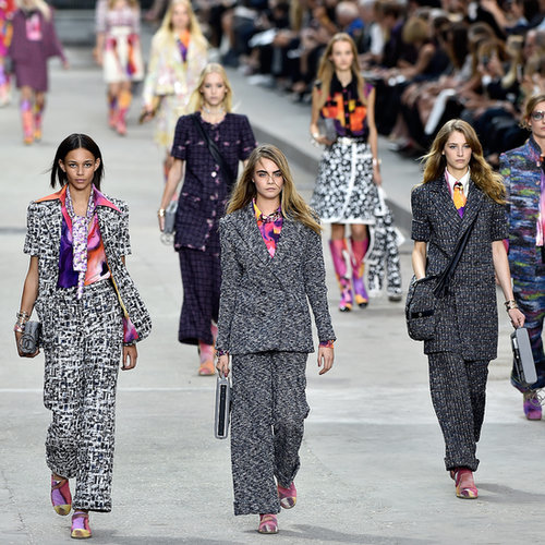 Karl Lagerfeld Put Ladies First at a Politically-Charged Chanel Show