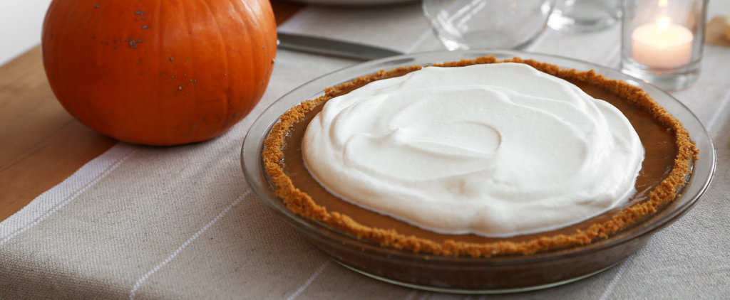 Lazy Girl's Pumpkin Pie With Graham Cracker Crust