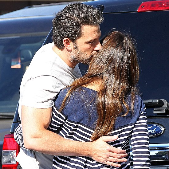 Ben Affleck Kisses Jennifer Garner 2014 | Pictures