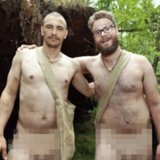 James Franco and Seth Rogen Take Nude Picture