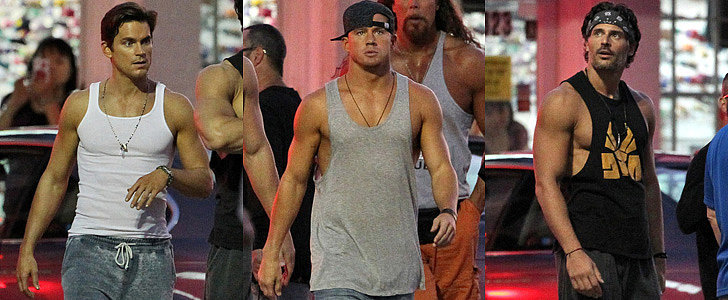 Magic Mike XXL Set Picture Update: The Boys Are Back in Town!