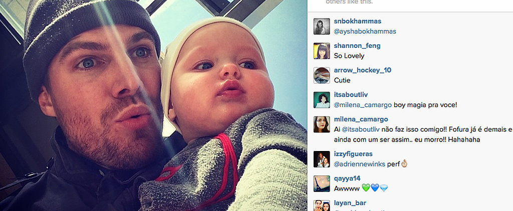 7 Reasons You Need to Follow Stephen Amell on Instagram Immediately