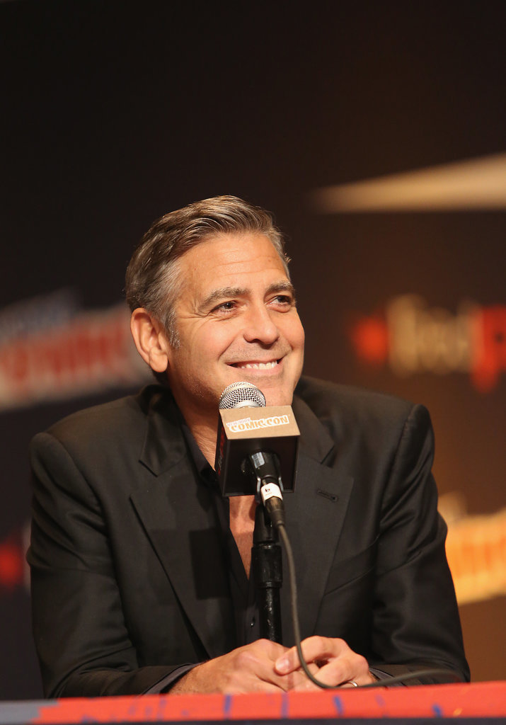 George Clooney Tomorrowland visit ComicCon New York in October - Page 2 He-Spoke-About-His-New-Wife-Amal-Alamuddin