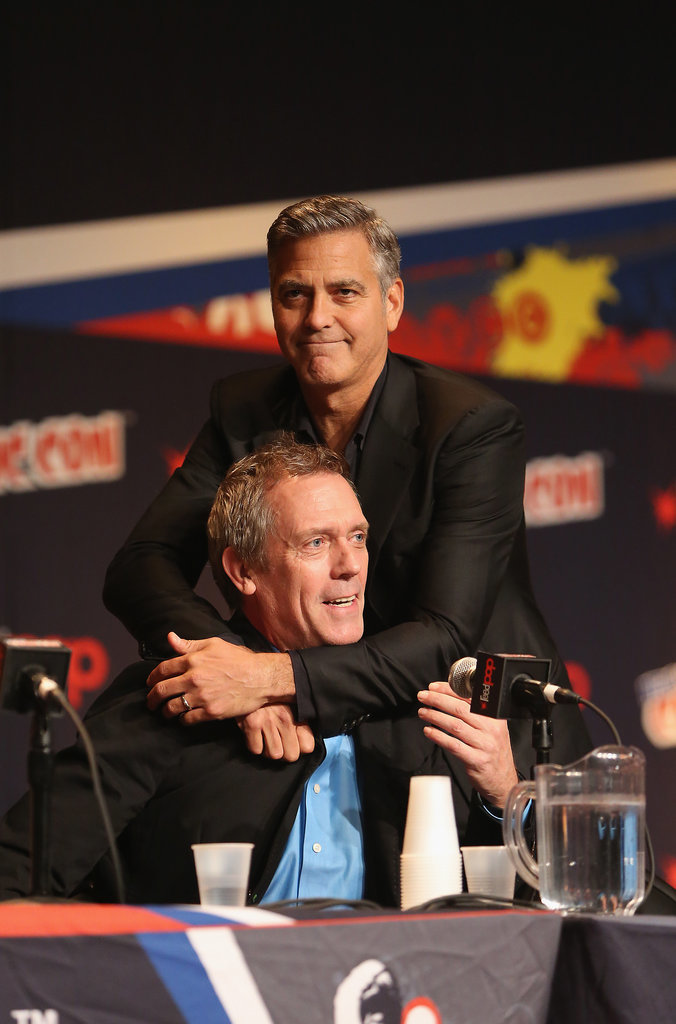 George Clooney Tomorrowland visit ComicCon New York in October - Page 2 He-Lovingly-Embraced-Hugh-Laurie