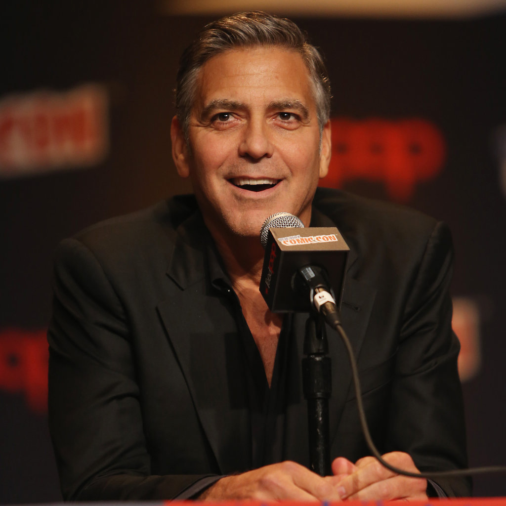 George Clooney Tomorrowland visit ComicCon New York in October - Page 2 George-Clooney-Crashing-NYC-Comic-Con-2014