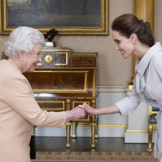 Dame Angelina Jolie Honoured By The Queen With Damehood