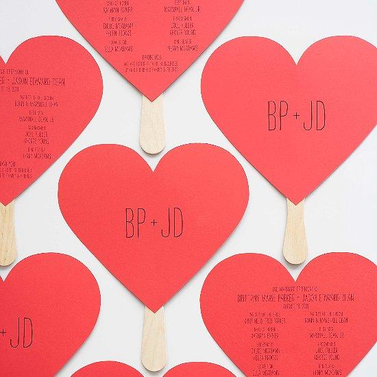 15 Unique (and Free!) Printable Wedding Programs