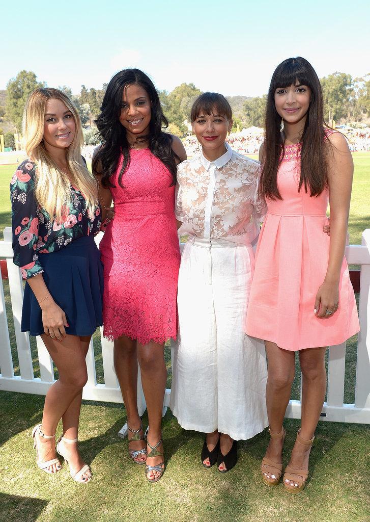 Lauren linked up with Sanaa Lathan, Rashida Jones, and ...