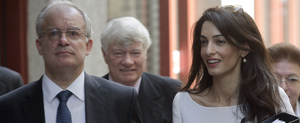 Forget About Being Mrs. Clooney, Amal Has Work to Do