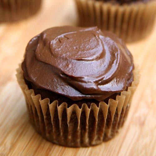 Vegan Chocolate Cupcakes with Avocado Icing   POPSUGAR Fitness ...