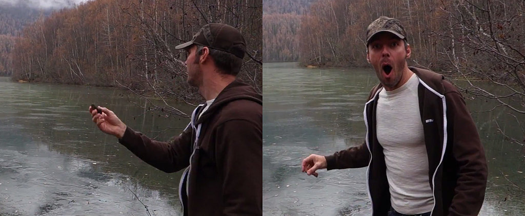 Prepare to Be Blown Away by the Sound of This Guy Skipping Rocks