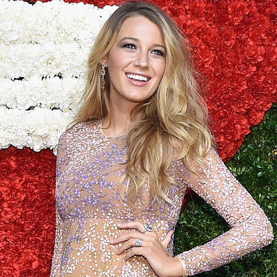 Blake Lively Pregnant Pictures at Golden Heart Awards NYC