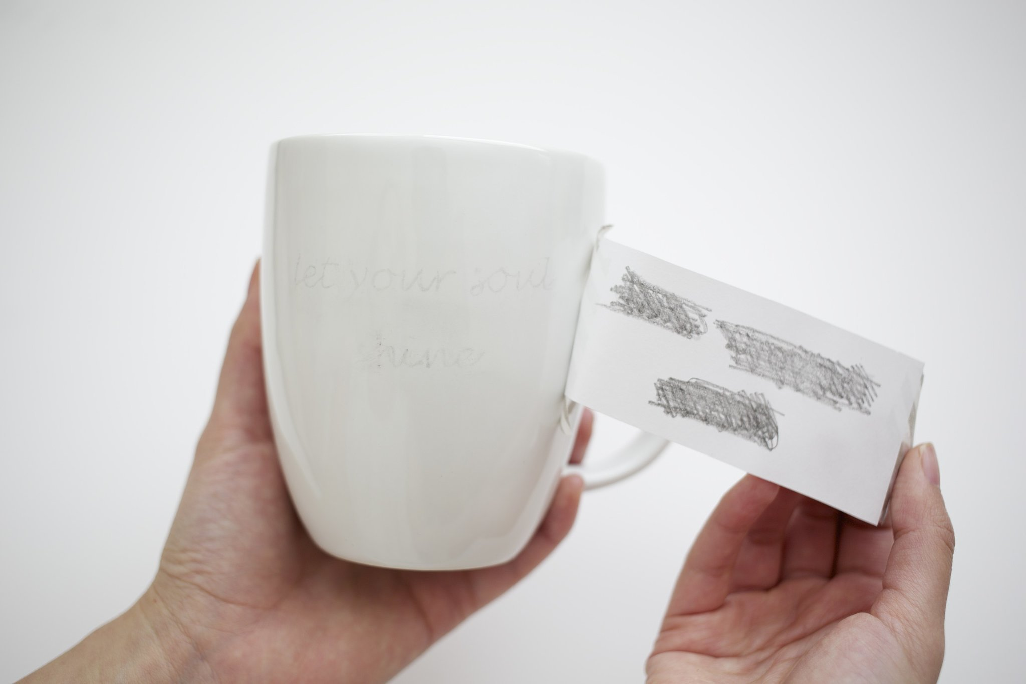Diy Quote Stenciled Sharpie Mugs Popsugar Smart Living